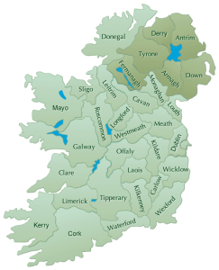 ireland-bnb-map