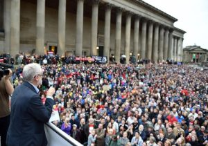 The power and the potential of the social movement behind Corbyn
