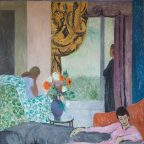 The Other Room, oil on canvas. Collection of Bryan Ferry. 161 x 174 cm.