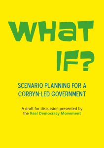 What if? Scenario planning for a Corbyn-led government