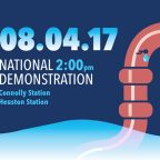 Flyer for right2water demo in Dublin