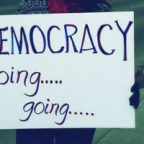 Election: Democracy Going?