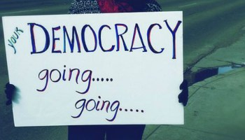 real democracy: your democracy going... going... gone?