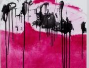Fail by Frances Aviva Blane, Oil on linen. 90 x 90cms.