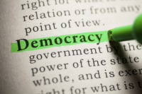 real democracy should not exist just in a dictionary