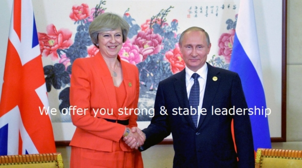 election - no to strong and stable