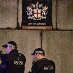 Armed police at London Bridge