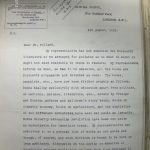 Special Branch letter about Bolshevik 'sack of books'