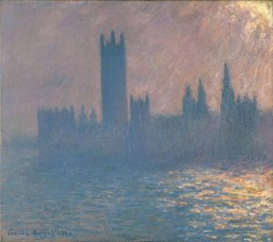 Claude Monet, Houses of Parliament, Sunlight Effect 1903