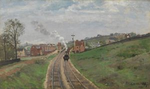 Lordship Lane Station Dulwich 1871, Camille Pissarro