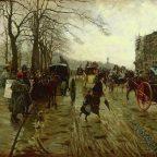 Piccadilly, Giuseppe de Nittis 1875 (Dona Dalle Rose Collection)