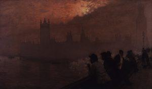 Westminster, Giuseppe Nittis, 1878 (Mme Diamante Marzotto)