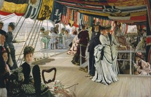 JamJames Tissot, The Ball on Shipboard c.1874 Tate
