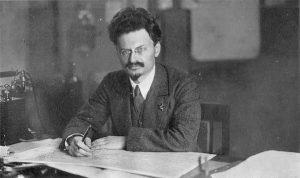 Trotsky in 1919