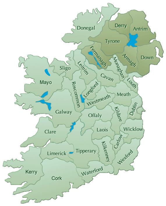 Ireland Bnb Map Real Democracy Movement