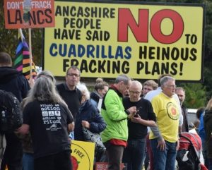 Tories ignore global heatwave and give backing for fracking