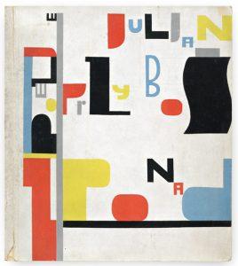 Wladyslaw Strzemiński book cover to Julian Przybos poems