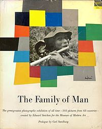 Family of Man, co-selected by Lange