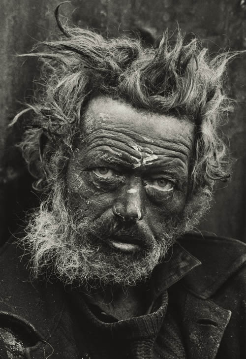 Don McCullin Homeless Irishman, Spitalfields, London 1970