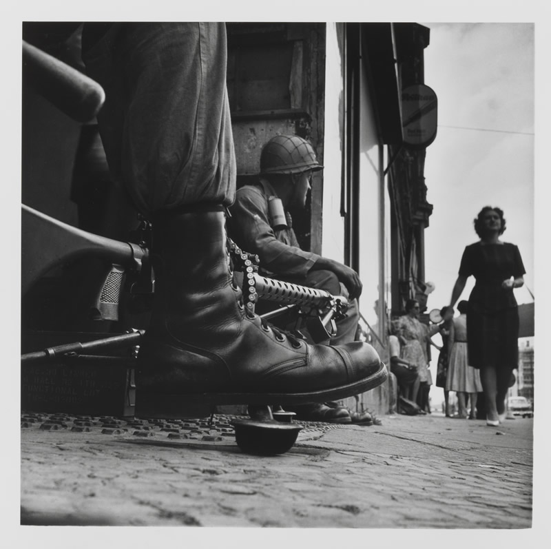 Don McCullin: Near Checkpoint Charlie Berlin 1961