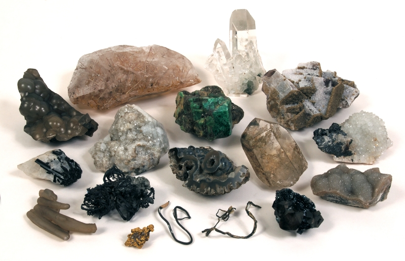 Mineralsfrom John Ruskin's Collection © Collection of the Guild of St George / Museums Sheffield