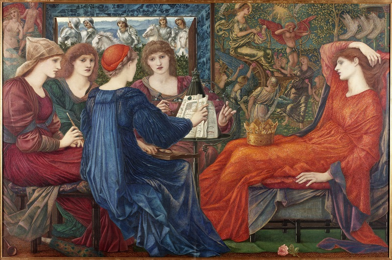 Laus Veneris by Edward Burne Jones at Laing Art Gallerys