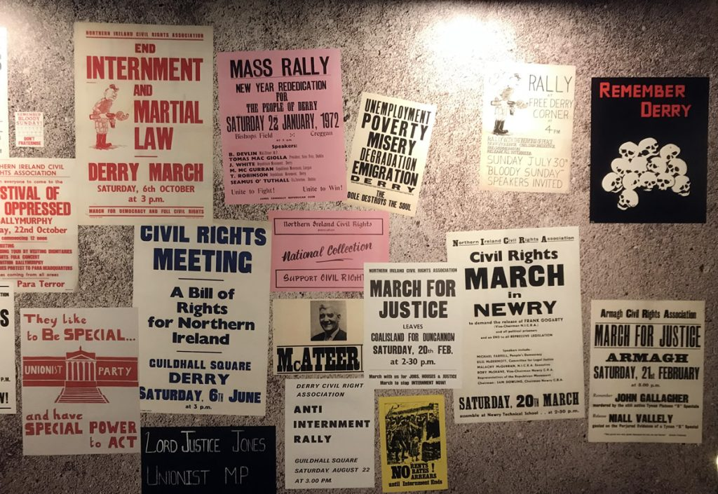 Museum of Free Derry posters