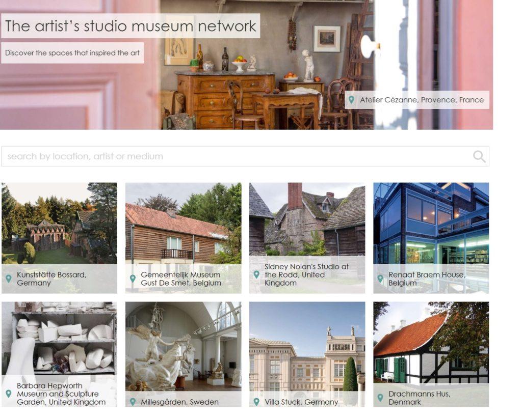 Artists Studios Museum Network