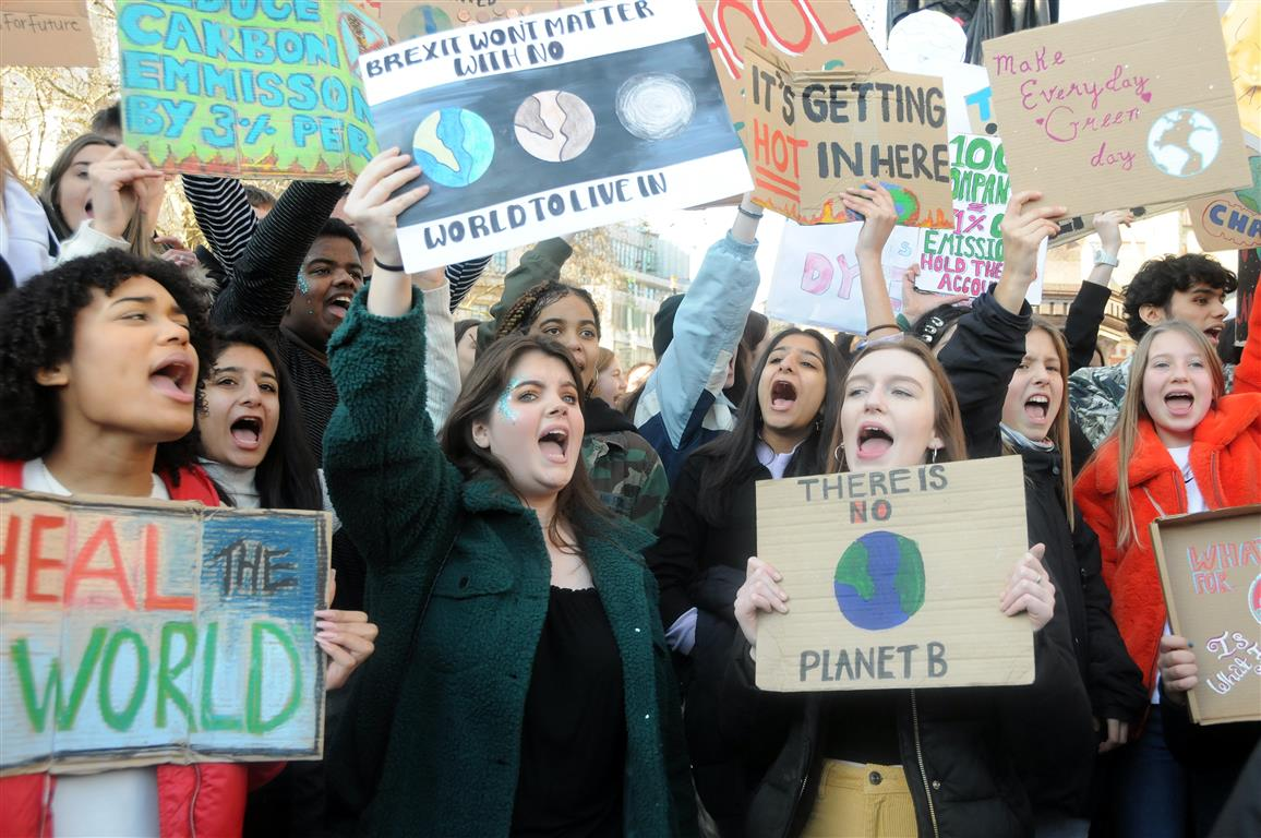 School climate strikers lead the way to a democratic revolution